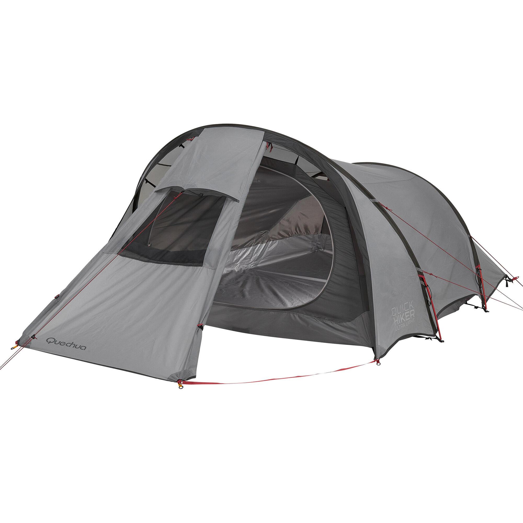 Quickhiker tent ultralight 3P  sc 1 st  Quechua & Tents | Quechua