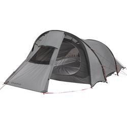 Tente de trek Quickhiker Ultralight 3 personnes gris clair