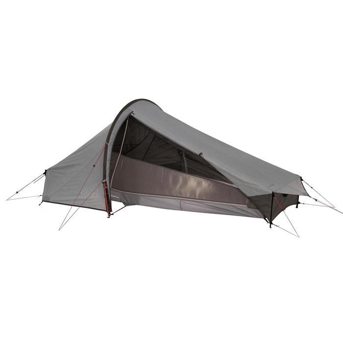 Tente de trek Quickhiker Ultralight 2 personnes gris clair - 1259727