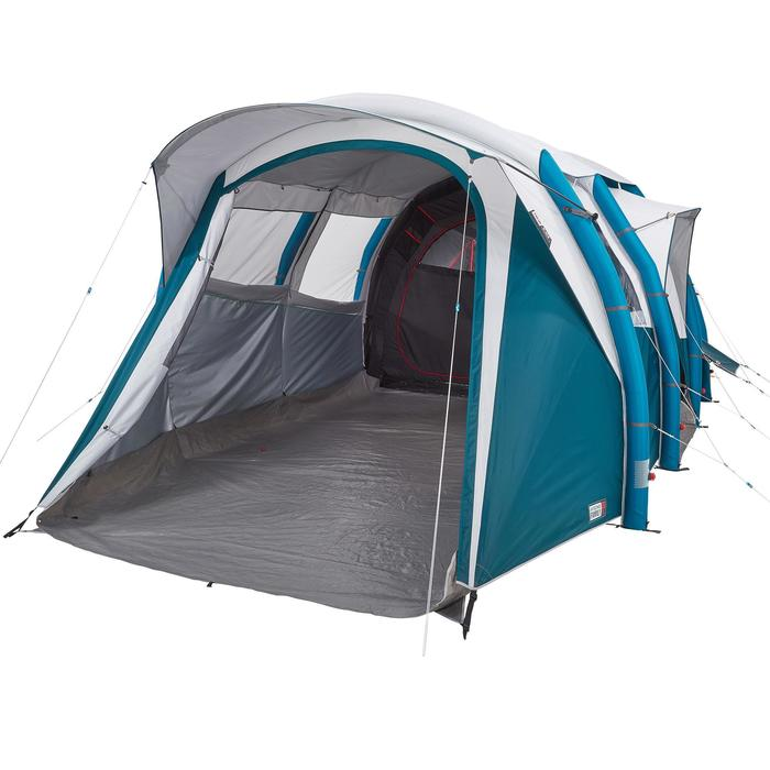 Tente de camping familiale Air seconds family 6.3 XL Fresh & Black I 6 personnes - 1259729