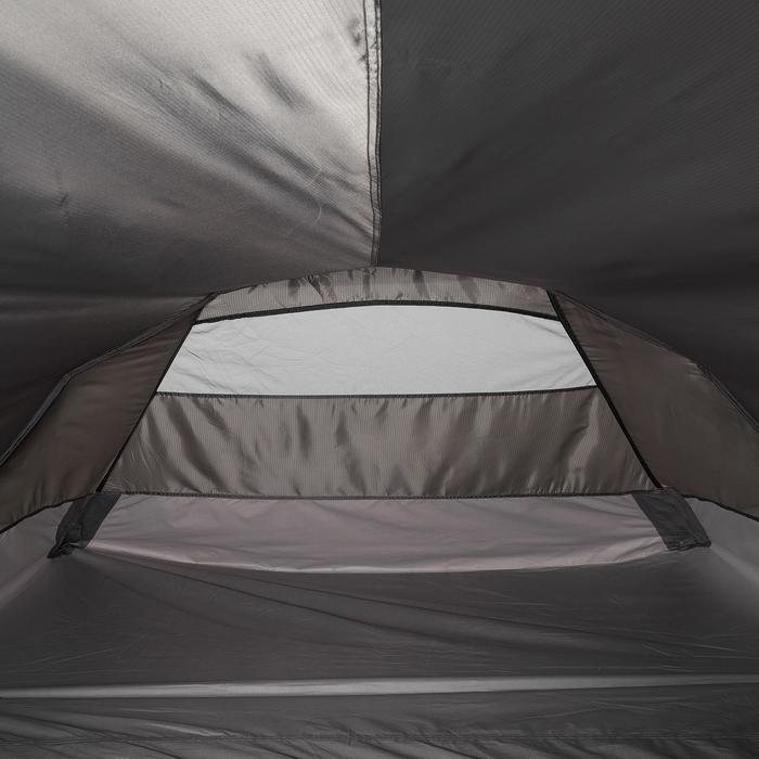Tente de trek Quickhiker Ultralight 3 personnes gris clair - 1259730