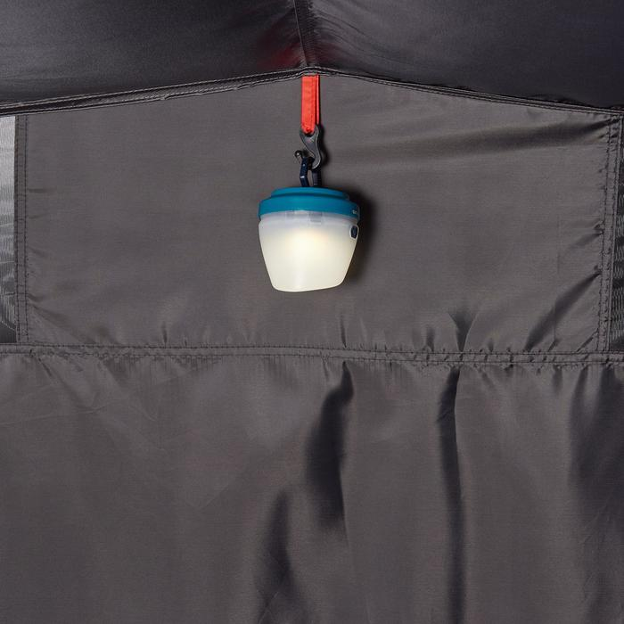 Tente de camping 2 SECONDS 3 XL FRESH&BLACK | 3 personnes bleu et blanche