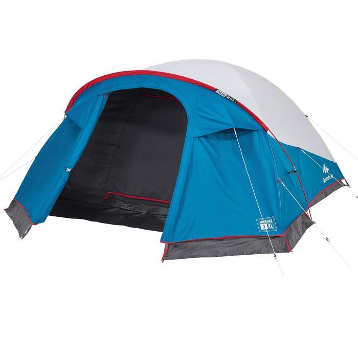 Tente de camping ARPENAZ 3 XL FRESH&BLACK | 3 personnes bleue et blanche