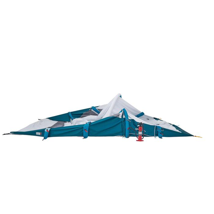 Tente de camping familiale Air seconds family 6.3 XL Fresh & Black I 6 personnes - 1259747