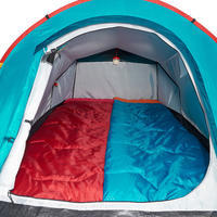 Tūrisma telts 2 personām 2 sekundēs, zila