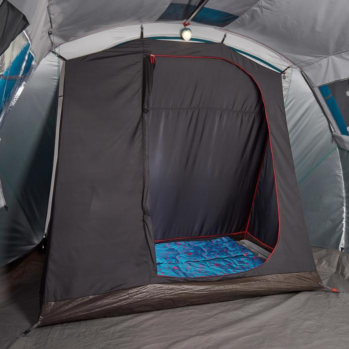 Tente de camping familiale Air seconds family 6.3 XL Fresh & Black I 6 personnes - 1259751