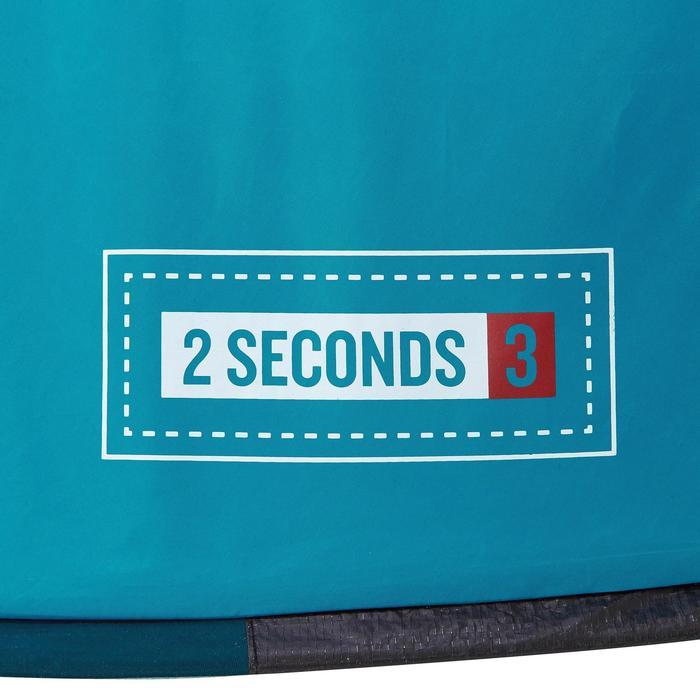 Kampeertent 2 Seconds 3 personen blauw