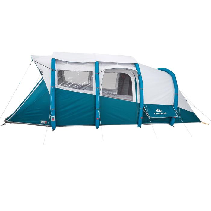 Tente de camping familiale Air seconds family 6.3 XL Fresh & Black I 6 personnes - 1259754