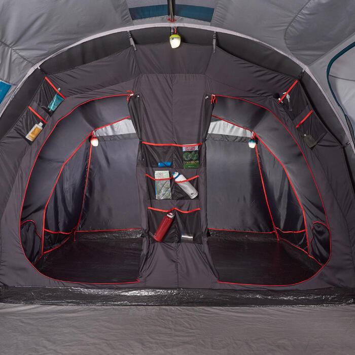 Slaapcompartiment en grondzeil Air Seconds Family 6.3XL Fresh&Black