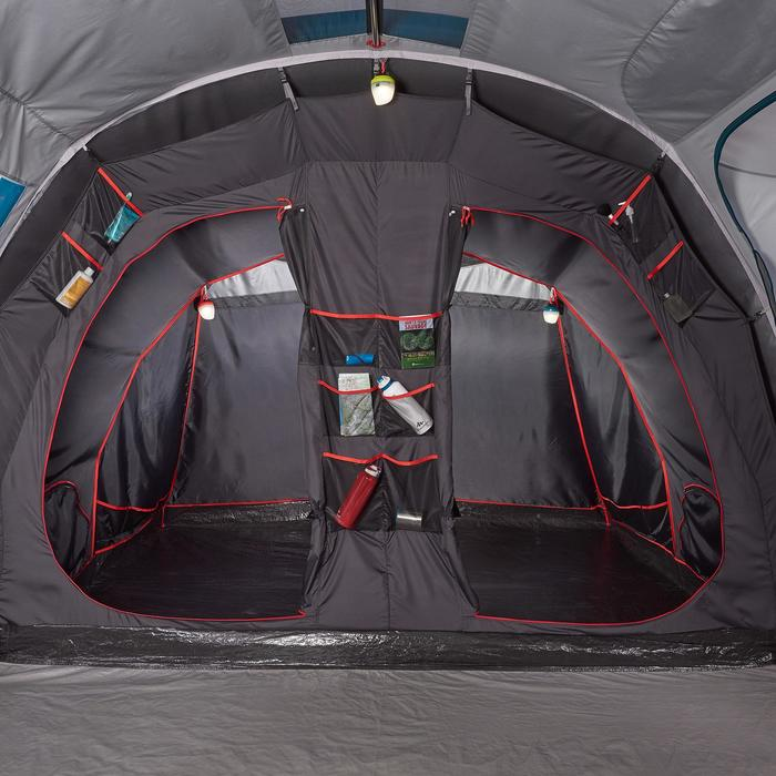 Tente de camping familiale Air seconds family 6.3 XL Fresh & Black I 6 personnes - 1259759