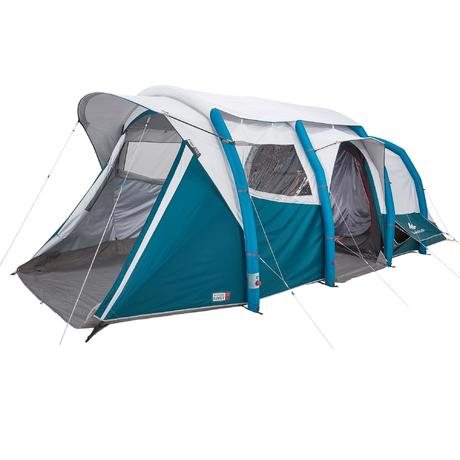 Tente de camping familiale air seconds family 6 3 xl fresh - Tente 4 places 2 chambres seconds family 4 2 xl ...