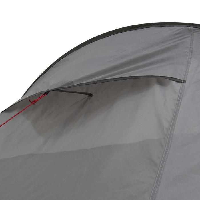 Tente de trek Quickhiker Ultralight 2 personnes gris clair - 1259774