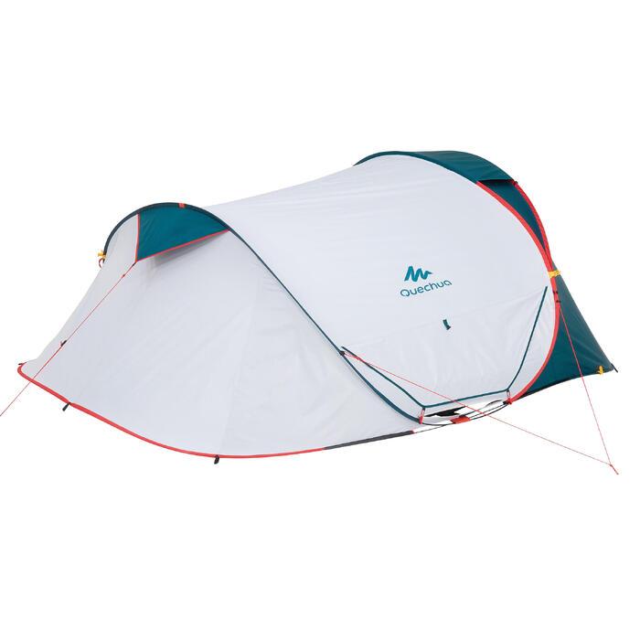 Tente de camping 2 SECONDS 3 XL FRESH&BLACK | 3 personnes blanche - 1259776