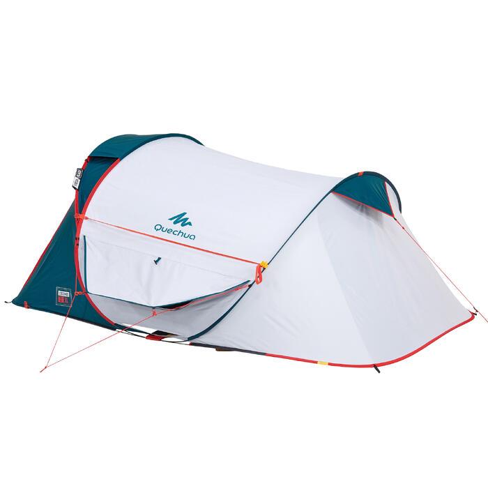 Tente de camping 2 SECONDS 2 XL FRESH&BLACK | 2 personnes blanche - 1259781