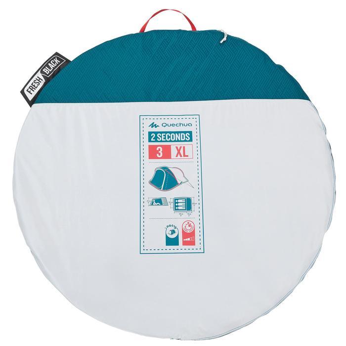 Tente de camping 2 SECONDS 3 XL FRESH&BLACK | 3 personnes blanche - 1259783