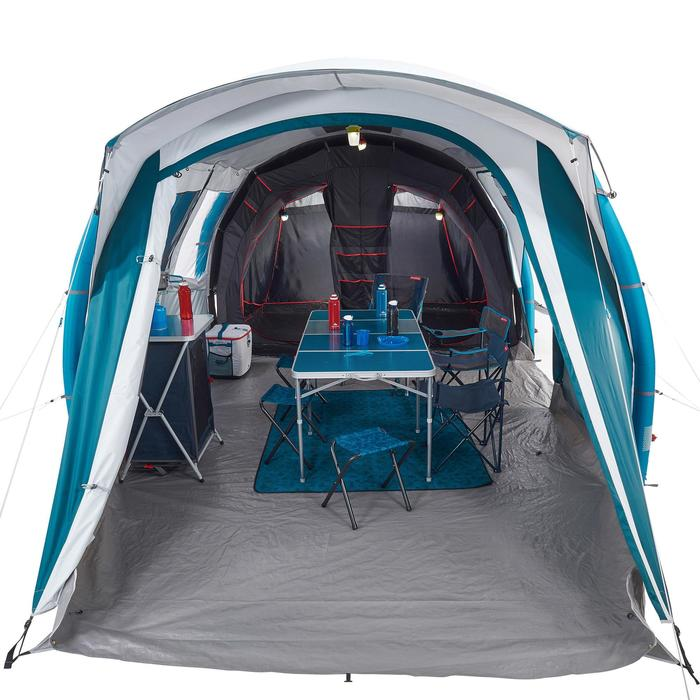 Tente de camping familiale Air seconds family 6.3 XL Fresh & Black I 6 personnes - 1259784