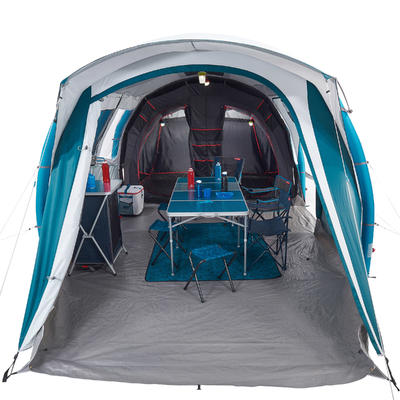 Tente gonflable de camping - Air Seconds 6.3 F&B - 6 Personnes - 3 Chambres