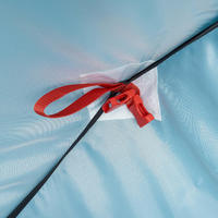 CAMPING TENT - 2 SECONDS - 2 PEOPLE - BLUE
