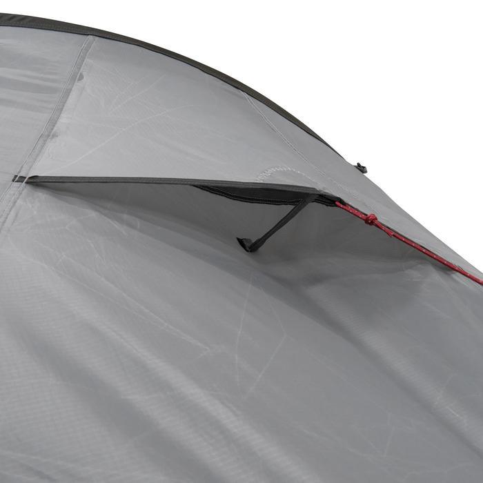 Tente de trek Quickhiker Ultralight 3 personnes gris clair - 1259788