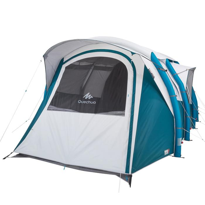 Tente de camping familiale Air seconds family 6.3 XL Fresh & Black I 6 personnes - 1259789