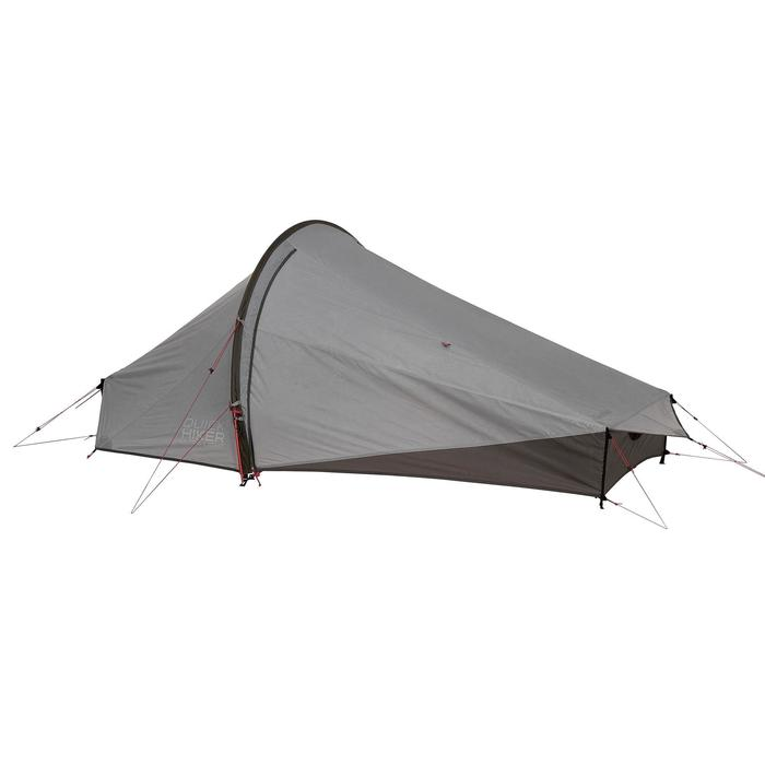 Tente de trek Quickhiker Ultralight 2 personnes gris clair - 1259793