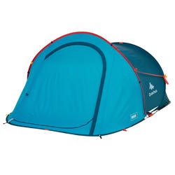TENTE DE CAMPING - 2 SECONDS - BLEUE - 2 PERSONNES