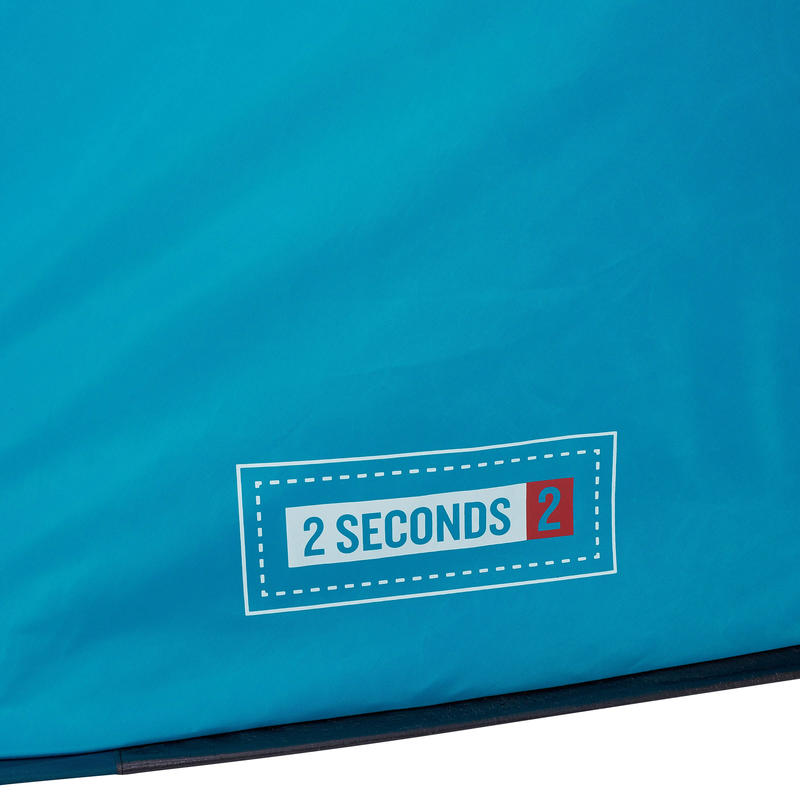 เต็นท์ตั้งแคมป์สำหรับ 2 คนรุ่น 2 Seconds (สีฟ้า)