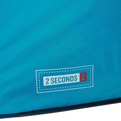 Wurfzelt 2 Seconds 2 für 2 Personen blau
