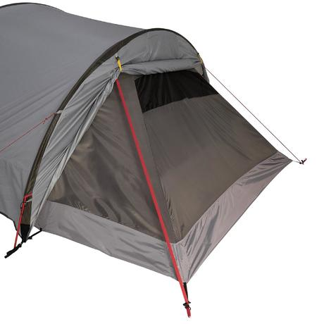 Next  sc 1 st  Quechua & Quickhiker Ultralight trekking tent 4 persons light grey | Quechua