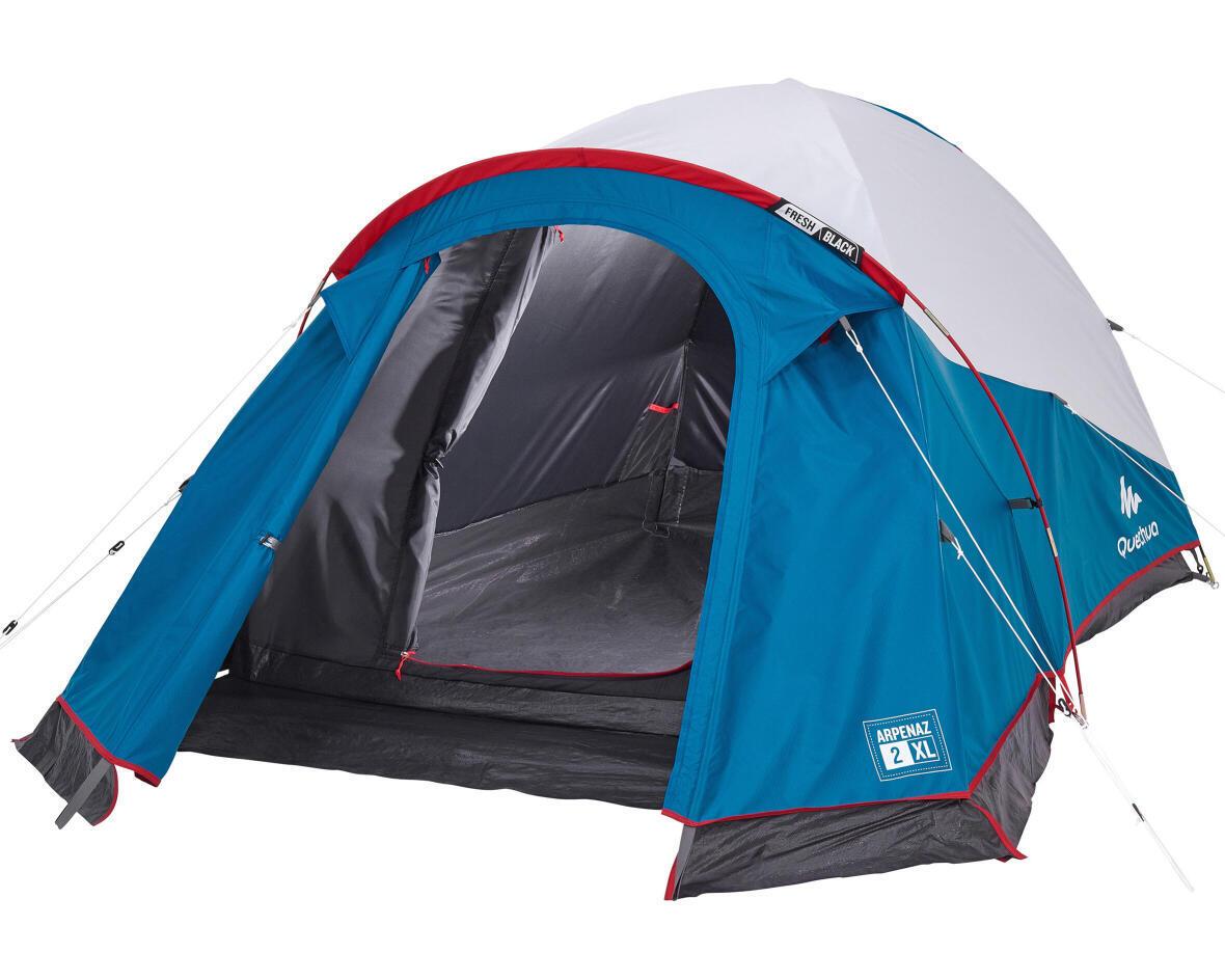 reparer-arceaux-tente-arpenaz-2-personnes-XL-fresh-and-black-quechua-cassee