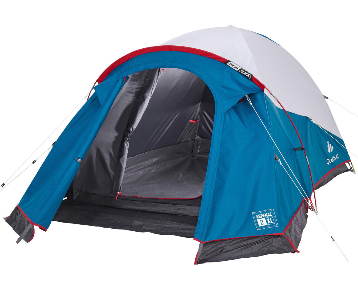 ремонт–палатка–second-2–х местная–fresh–and–black–XL–quechua–повреждение