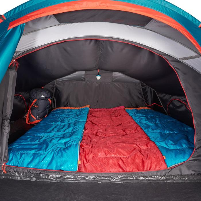 quechua tente de camping 2 seconds 3 xl fresh black 3 personnes blanche decathlon. Black Bedroom Furniture Sets. Home Design Ideas
