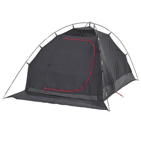 tente de camping arpenaz 2 xl fresh black 2 personnes blanche quechua. Black Bedroom Furniture Sets. Home Design Ideas