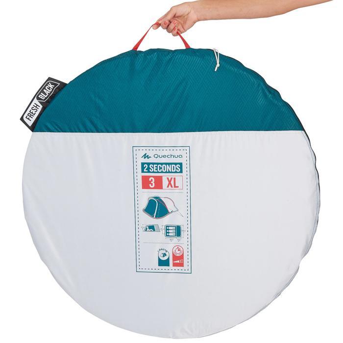 Tente de camping 2 SECONDS 3 XL FRESH&BLACK | 3 personnes blanche - 1259815