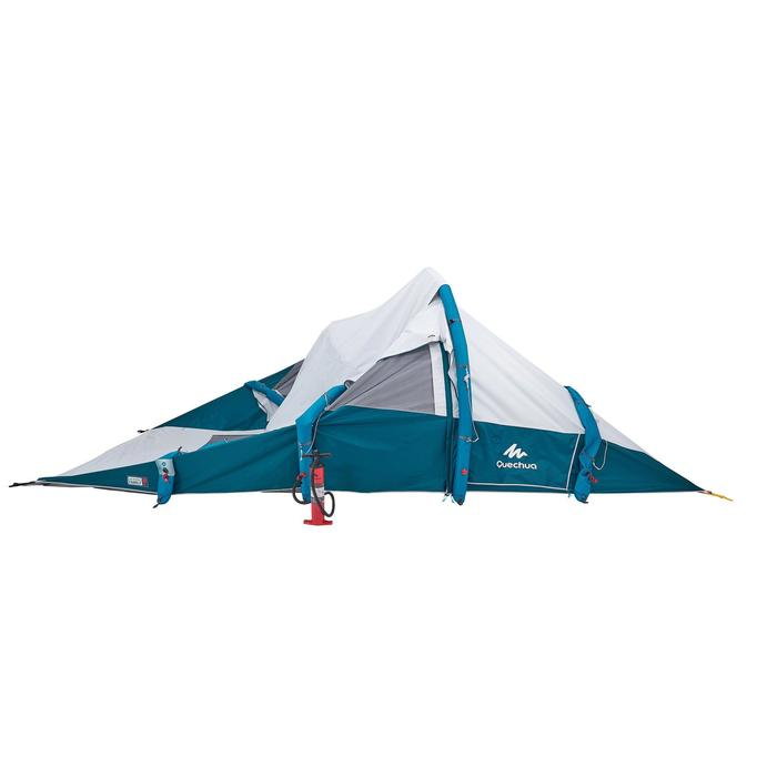 Tente de camping familiale Air seconds family 6.3 XL Fresh & Black I 6 personnes - 1259820