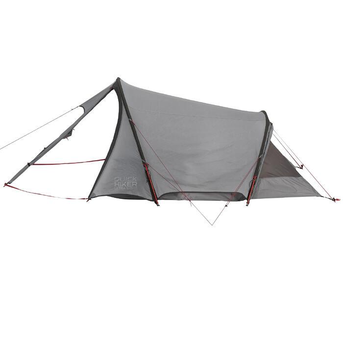 quechua tente de trek quickhiker ultralight 3 personnes. Black Bedroom Furniture Sets. Home Design Ideas