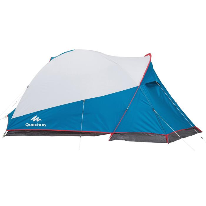 Tent | 3 Persoons | Blauw/wit | XL Fresh & Black