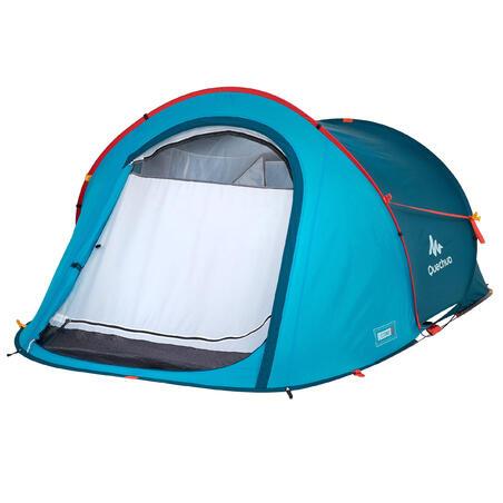 Carpa de Camping Pequeña Quechua 2 Seconds 2 Personas Azul