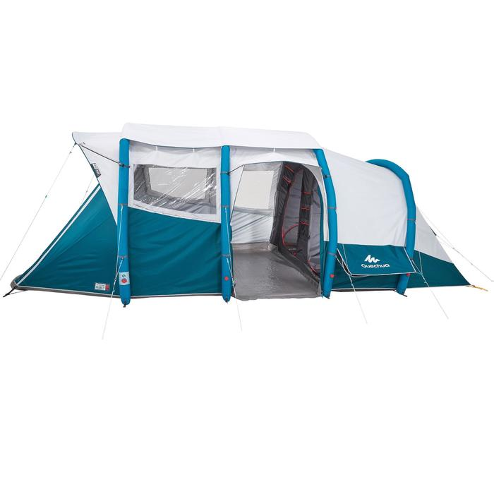 Tente de camping familiale Air seconds family 6.3 XL Fresh & Black I 6 personnes - 1259837