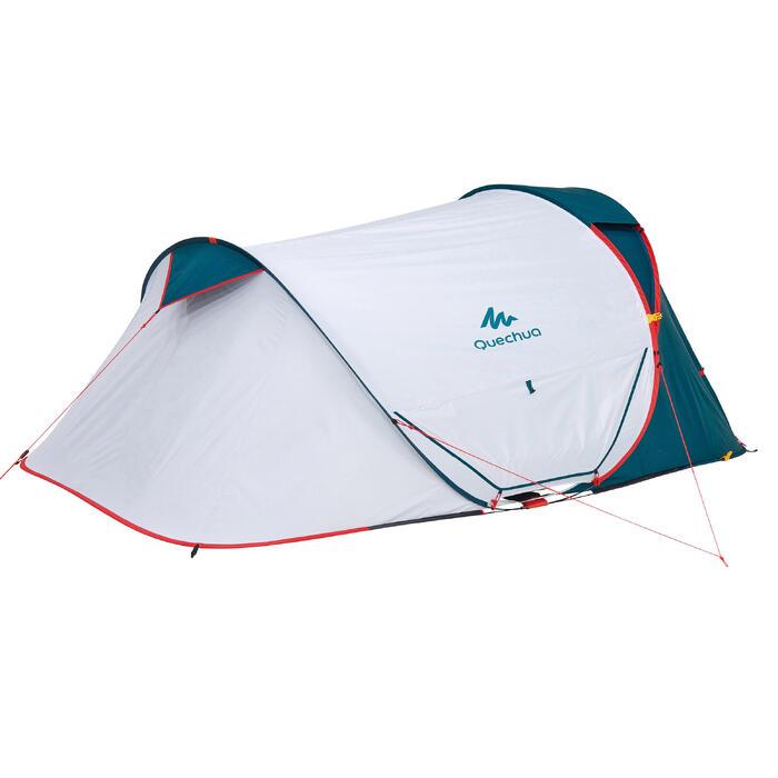 Tente de camping 2 SECONDS 2 XL FRESH&BLACK | 2 personnes blanche - 1259845