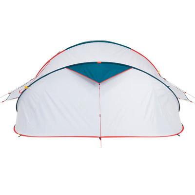 אוהל פתיחה מהירה לקמפינג 3XL עם טכנולוגיית FRESH&BLACK | ל-3 אנשים - כחול ולבן