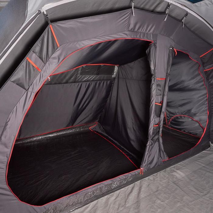 Tente de camping gonflable AIR SECONDS 5.2 FRESH&BLACK | 5 Personnes 2 Chambres