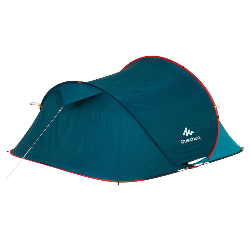 SPARE PARTS SECOND TENTS Camping - 2 Seconds 3 Blue Flysheet QUECHUA - Tent Spares and Accessories