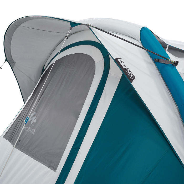Tente de camping familiale Air seconds family 6.3 XL Fresh & Black I 6 personnes - 1259860