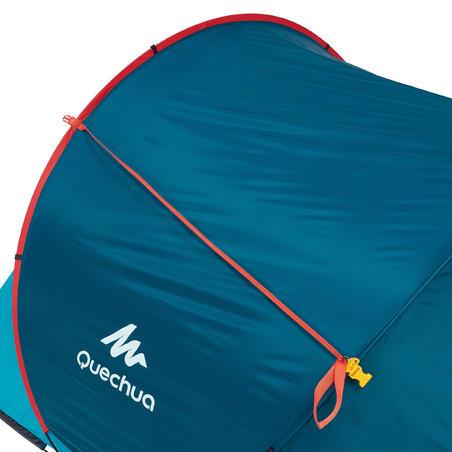 2 sekunžu telts, 3 personām, zila