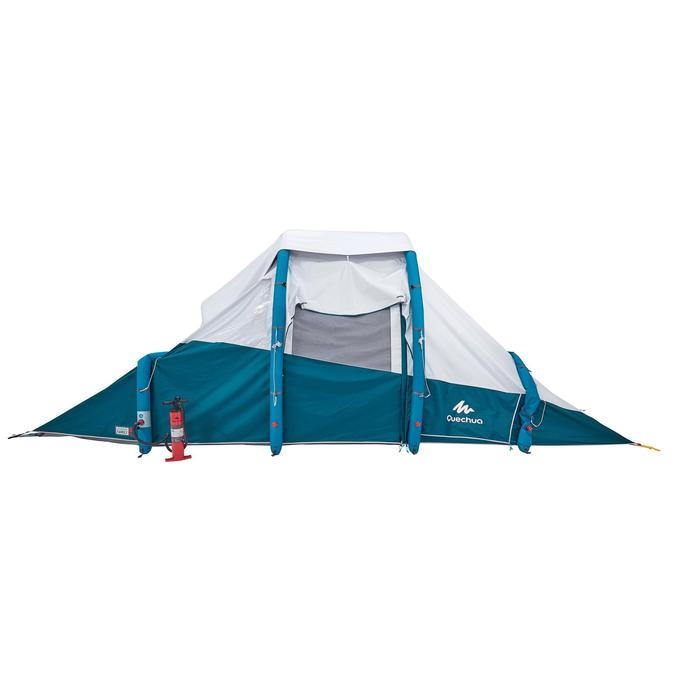 Tente de camping familiale Air seconds family 6.3 XL Fresh & Black I 6 personnes - 1259869