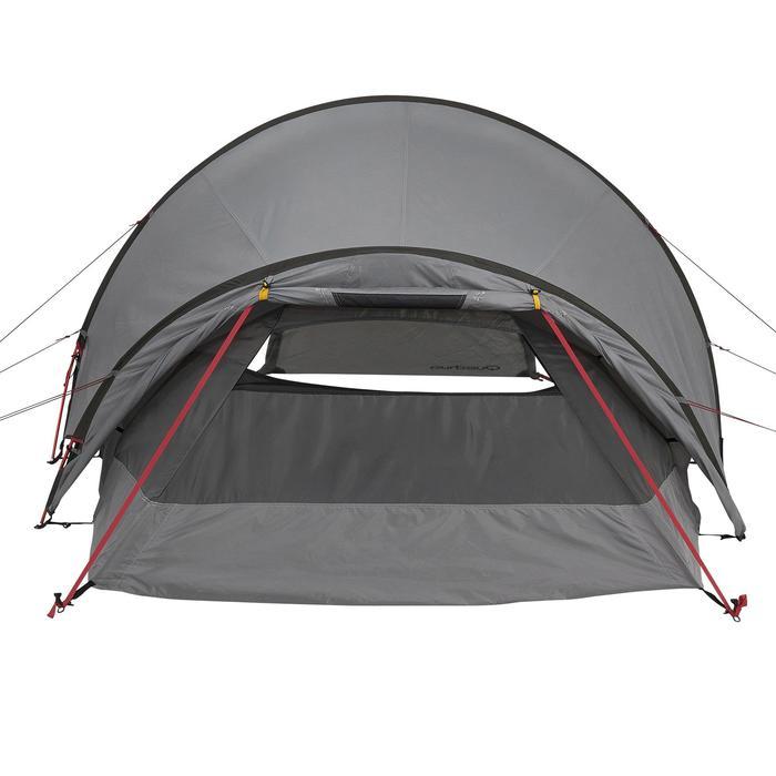 Tente de trek Quickhiker Ultralight 3 personnes gris clair - 1259871