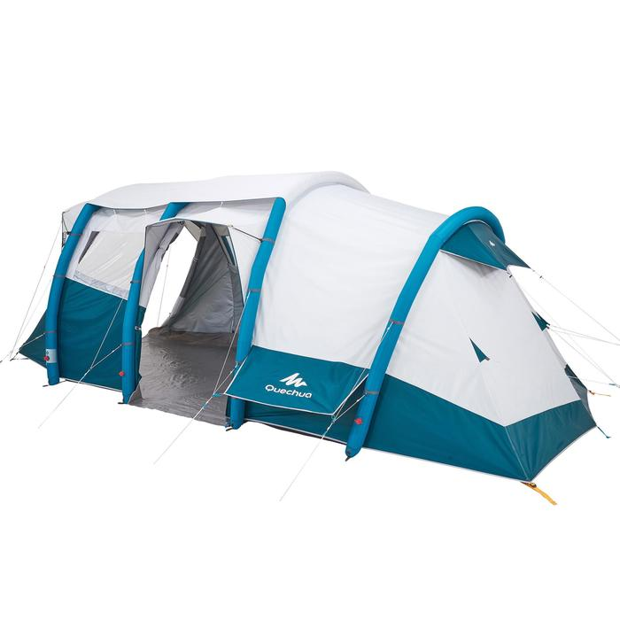 Tente de camping familiale Air seconds family 6.3 XL Fresh & Black I 6 personnes - 1259878