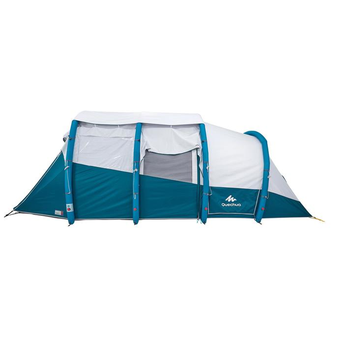 Tente de camping familiale Air seconds family 6.3 XL Fresh & Black I 6 personnes - 1259880