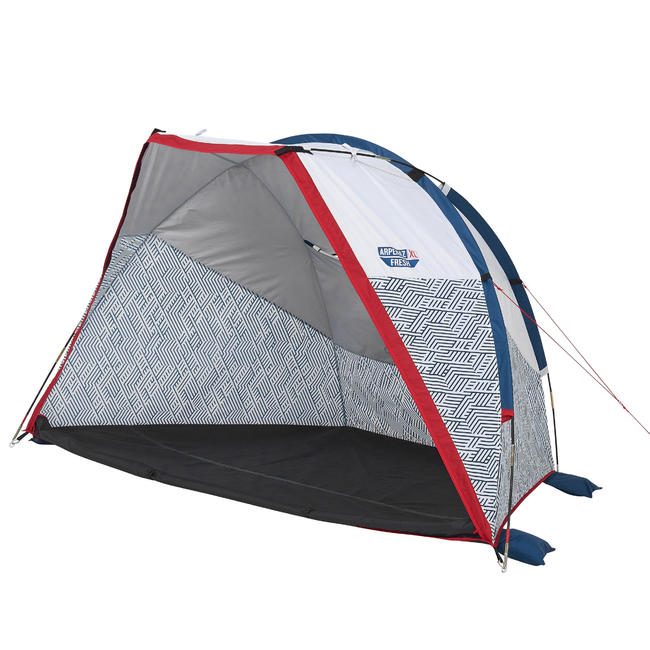 CAMPING AND HIKING HOOP SHELTER - ARPENAZ COMPACT FRESH - 2 ADULTS